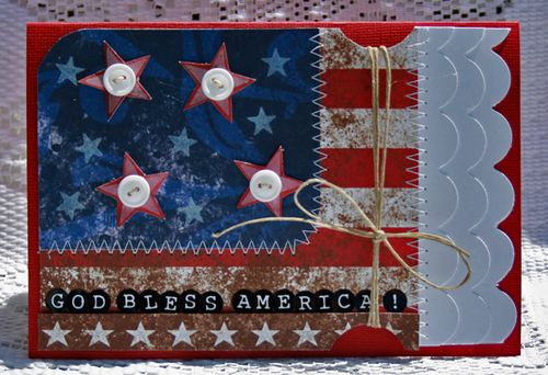 4th of july card 2